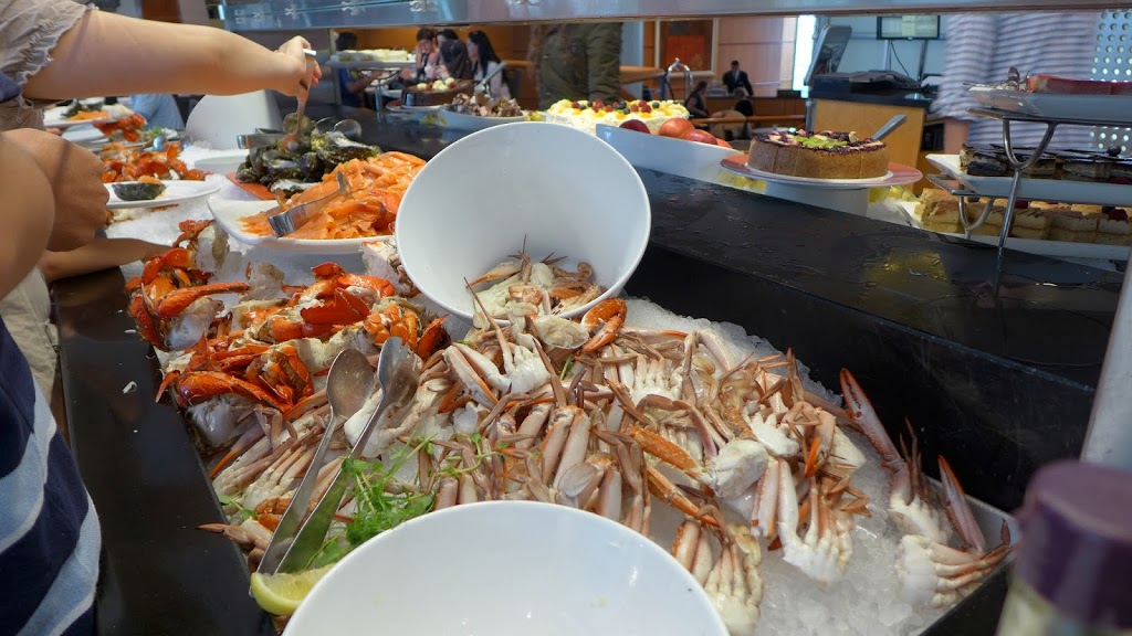 The Corn Exchange - Four Points by Sheraton seafood buffet