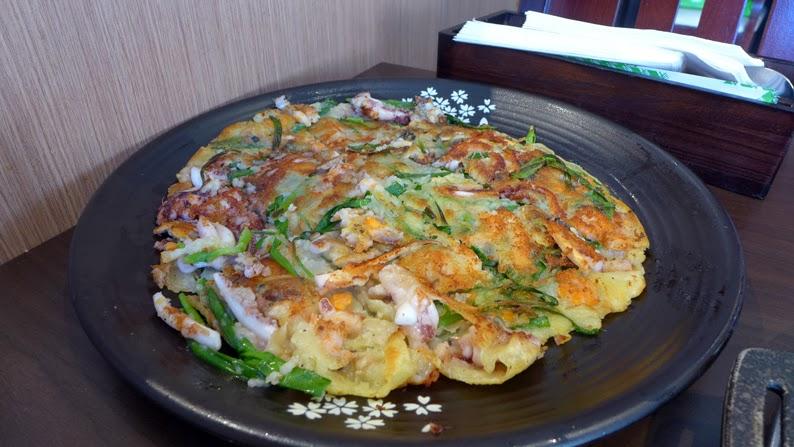 seoul ria korean food bbq sydney city seafood pancake