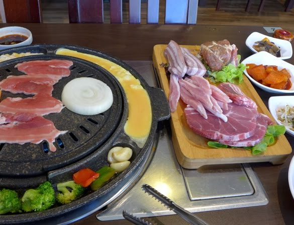seoul ria korean food bbq sydney city cooking