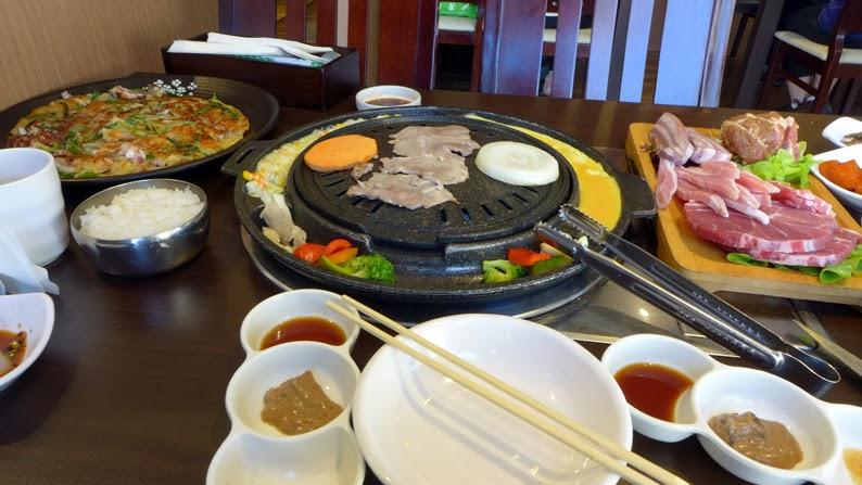 seoul ria korean food bbq sydney city cooking