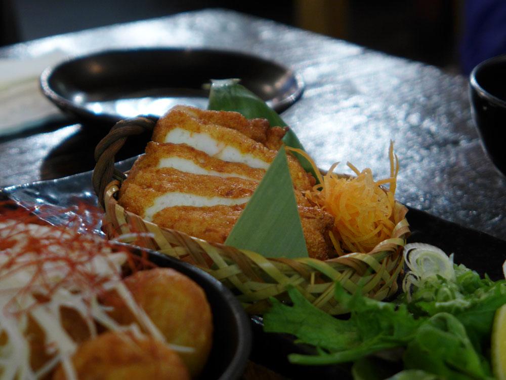 Yebisu Izakaya fish cake