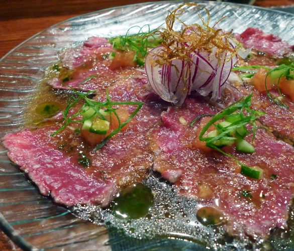 kujin japanese potts point sydney wagyu beef tataki
