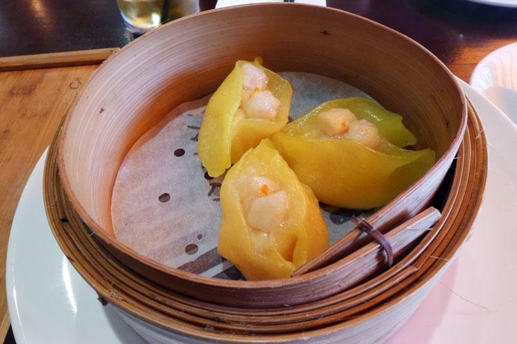 puer modern chinese waterloo scallop dumplings