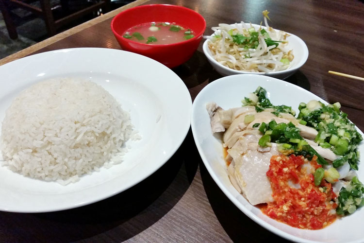 David's Kitchen - hainan chicken rice