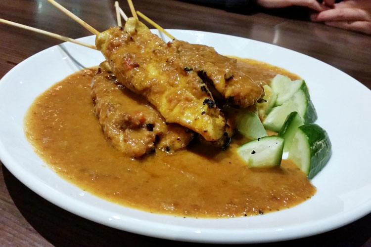 David's Kitchen - malay satay chicken skewer