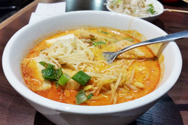 David's Kitchen - seafood laksa