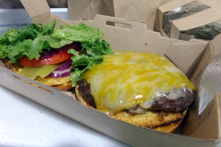 mcdonalds create your taste maccas  takeaway package burger