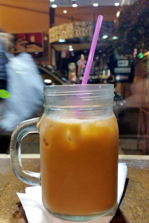thai number one ashfield thai milk tea