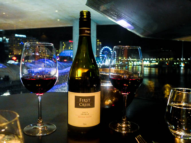 meat and wine co darling harbour free wine