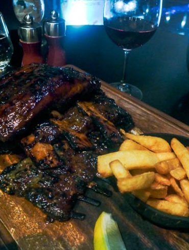 meat and wine co darling harbour ribs platter