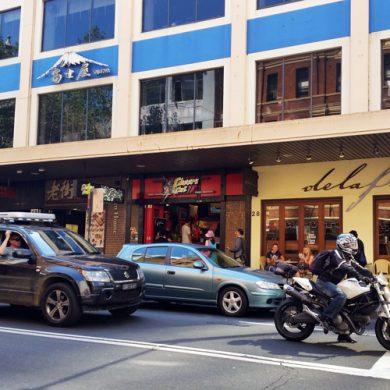 cheers cut chinatown sydney fried chicken front shop
