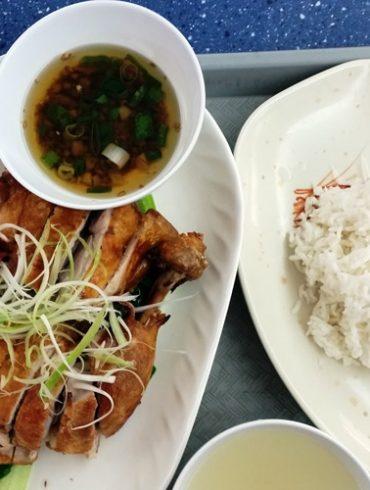hong kong kings chef eating world sydney deep fried chicken ginger shallot oil
