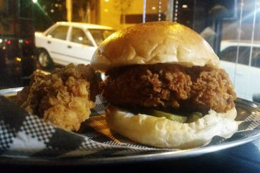 butter sydney surry hills fried chicken sandwich thigh piece
