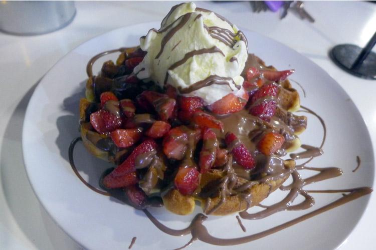 tella ball dessert bar dulwich hill sydney housemade waffles tella bella
