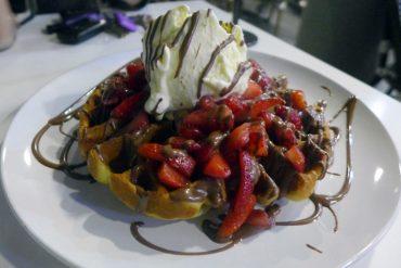 tella ball dessert bar dulwich hill sydney housemade waffles tella bella other angle