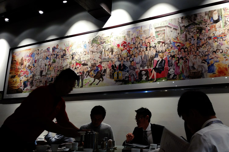 bbq king chinese restaurant liverpool street chinatown sydney interior