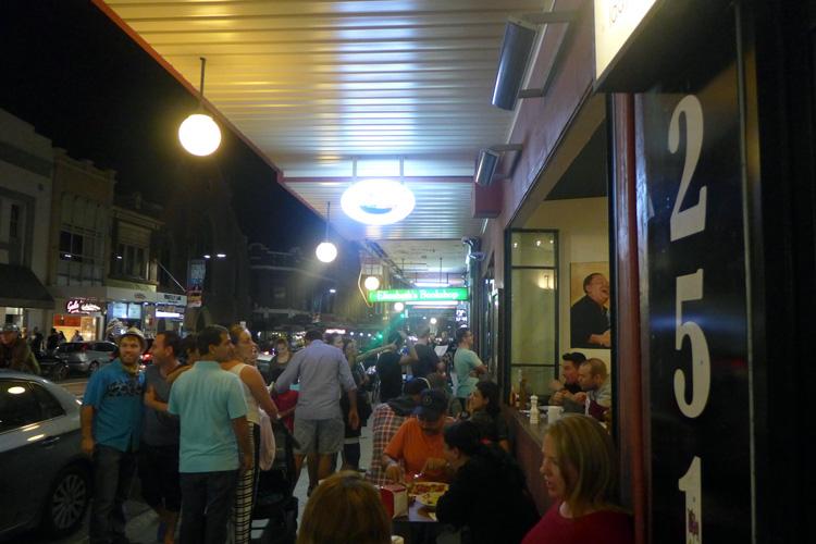 the italian bowl newtown king street sydney outside