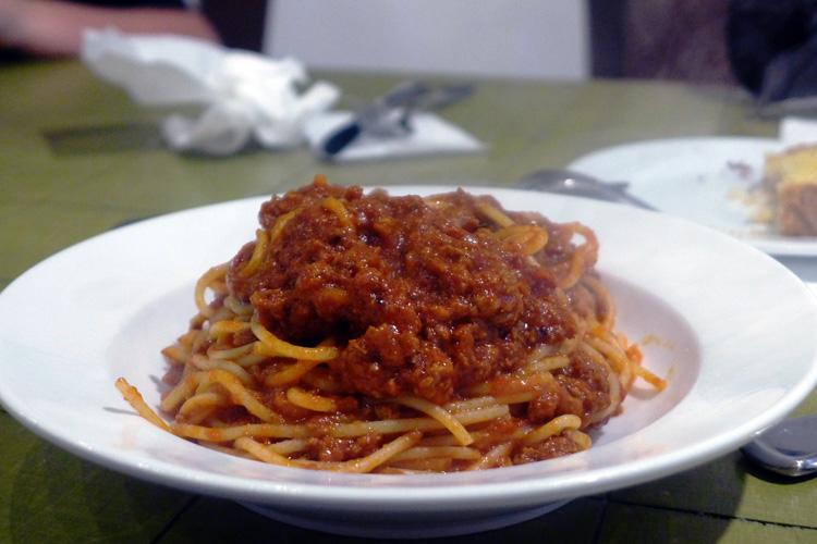 the italian bowl newtown king street sydney spaghetti bolognese far