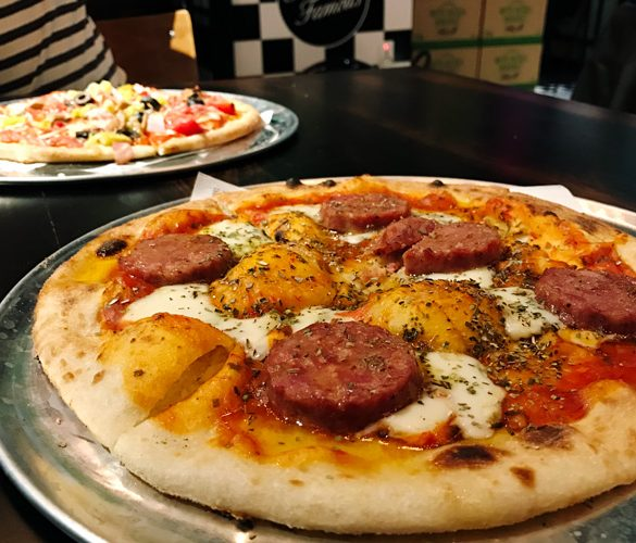 fratelli famous pizzeria world square george street sydney cbd nsw great balls of fire